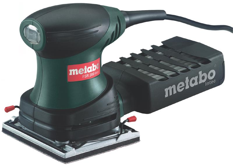 Metabo sander fsr 200 intec 200 watt schleifmaschine for Levigatrice parkside